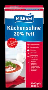 Küchensahne Milram 20% 1 L