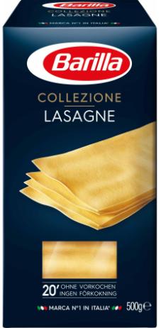 Lasagne gelb Barilla